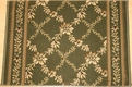 Earnest Sophie 862 Basil Custom Runner
