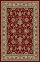 Elegance 5140 Red Area Rug by Tayse