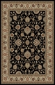 Elegance 5143 Black Area Rug by Tayse
