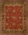 Empire EM-289 Rust Brown Area Rug by Kalaty