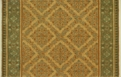 English Manor Manchester 3229/0003a Ivory/Green Carpet Stair Runner