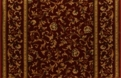 English Manor Windermere 3301/0004a Wine Carpet Stair Runner