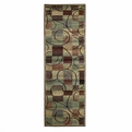 Nourison Expressions Xp01 Brown Runner