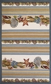Fairfax 5506 Seashells Outdoor Rug by Kas