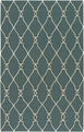 Fallon FAL-1007 Turquoise Ivory Rug by Surya