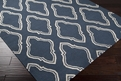 Fallon FAL-1050 Blue Ivory Area Rug by Surya