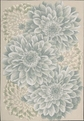 Fantasy FA10 Light Green Area Rug by Nourison