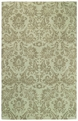 Floral Damask Light Turquoise Piedmont Area Rug by Capel