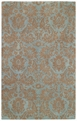 Floral Damask Spa Piedmont Area Rug by Capel