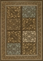 Couristan Floral Neutral 2196/1096 Covington Rug