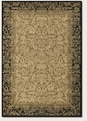 Fontana Gold/Black 1284/4898 Everest Area Rug by Couristan
