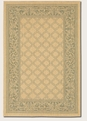 Garden Lattice Natural Green 1016/5016 Recife Outdoor Area Rug by Couristan