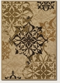 Gatesby Sand Ivory 5714/0134 Urbane Outdoor Area Rug by Couristan