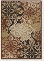 Couristan Gatesby Tan TerraCotta 5714/0136 Urbane Rug