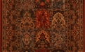 Gem Antique Nain 8502/1907a Old World Coloration Carpet Stair Runner