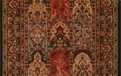 Gem Antique Nain 8502/2213a Black Carpet Stair Runner