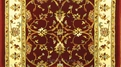 Gem GEM02 Red Traditional Carpet Stair Runner