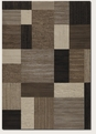 Geometric Brown Multi 6303/4343 Everest Area Rug by Couristan