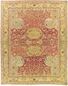 Grand Antiquities GA116 Rust Polonaise Flat Weave Rug