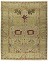 Grand Antiquities GA123 Gold Sultanabad Hand Knotted Flat Weave 100% Wool Payless Rugs