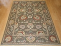 Grand Antiquities GA137 Mocha Ziegler Hand Knotted Flat Weave 100% Wool Payless Rugs