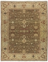 Grand Antiquities GA138 Khaki Oushak Hand Knotted Flat Weave 100% Wool Payless Rugs