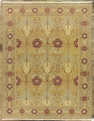 Grand Antiquities GA144 Gold Art Nouveau Hand Knotted Flat Weave 100% Wool Payless Rugs