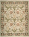 Grand Antiquities GA144 Light Green Art Nouveau Hand Knotted Flat Weave 100% Wool Payless Rugs