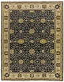 Grand Antiquities GA145 Indigo Oushak Flat Weave Rug