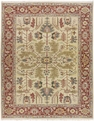Grand Antiquities GA147 Light Gold Oushak Hand Knotted Flat Weave 100% Wool Payless Rugs