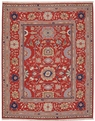 Grand Antiquities GA165 Red Agra Hand Knotted Flat Weave 100% Wool Payless Rugs