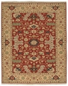 Grand Antiquities GA173 Red Oushak Hand Knotted Flat Weave 100% Wool Payless Rugs