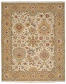 Grand Antiquities GA174 Beige Agra Hand Knotted Flat Weave 100% Wool Payless Rugs