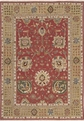 Grand Antiquities GA181 Brick Hand Knotted Flat Weave 100% Wool Payless Rugs