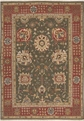 Grand Antiquities GA181 Olive Hand Knotted Flat Weave 100% Wool Payless Rugs