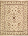 Grand Antiquities GA187 Beige Hand Knotted Flat Weave 100% Wool Payless Rugs