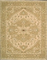 Grand Antiquities GA189 Beige Hand Knotted Flat Weave 100% Wool Payless Rugs