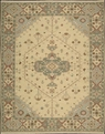 Grand Antiquities GA205 Beige / Rust Hand Knotted Flat Weave 100% Wool Payless Rugs