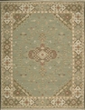 Grand Antiquities GA205 Jade Hand Knotted Flat Weave 100% Wool Payless Rugs