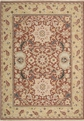 Grand Antiquities GA40 Rust William Morris Hand Knotted Flat Weave 100% Wool Payless Rugs