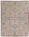 Grand Antiquities GA67 Olive Agra Hand Knotted Flat Weave 100% Wool Payless Rugs