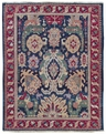 Grand Antiquities GA70 Navy Oushak Hand Knotted Flat Weave 100% Wool Payless Rugs