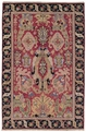 Grand Antiquities GA70 Red Oushak Hand Knotted Flat Weave 100% Wool Payless Rugs