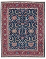 Grand Antiquities GA71 Navy Mahal Flat Weave Rug