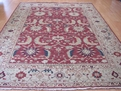 Grand Antiquities GA71 Rust Mahal Hand Knotted Flat Weave 100% Wool Payless Rugs