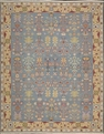 Grand Antiquities GA92 Blue Flat Weave Rug