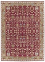 Grand Antiquities GA92 Burgundy Agra Hand Knotted Flat Weave 100% Wool Payless Rugs