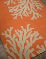 Grant Bough Out GD-01 Orange/Gray Outdoor Area Rug by Jaipur