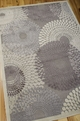 Graphic Illusions GIL04 Grey Rug by Nourison