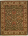 Hacienda HAC-07 Sage Soft Gold Flat Weave Hand Knotted 100% Wool Rugs On Sale